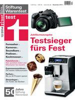 Heft 12/2014 Espressomaschinen: Wie beim Italiener