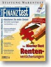 Heft 09/2002 Riester-Rentenversicherungen: Die Lücke schließen