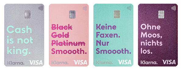 Klarna Visa Card