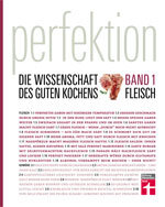 Perfektion. Band 1: Fleisch: Die besten Rezepte für professionell zubereitete Fleisch-Gerichte