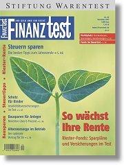 Heft 12/2003 Riester-Sparen mit Fonds: Auf Wachstum setzen