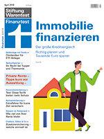 Heft 04/2018 Eigenheim finanzieren: Stufe für Stufe zum Kredit