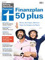 Heft 04/2019 Altersvorsorge ab 50: Rente, Vermögen, Wohnen – so planen Sie für später