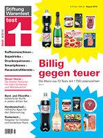 Heft 08/2018 Handelsmarke gegen Marke: 72 Tests mit 1739 Lebensmitteln – die Bilanz