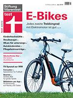 Heft 06/2018 Trekking-E-Bikes: Elektrisch auf Tour