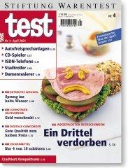 Heft 04/2001 Abgepackter Bierschinken: Jeder Dritte verdorben