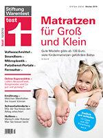 Heft 10/2018 Matratzen: Die Besten der Besten