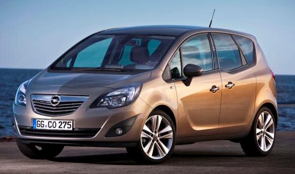 Opel Meriva 2010 Hauptbild
