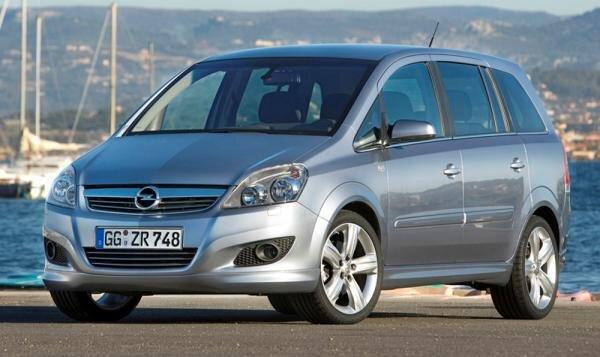 Opel Zafira Hauptbild