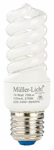 Müller-Licht Mini Spiral, 14 Watt Hauptbild