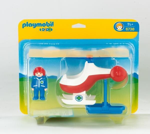 Playmobil Rettungshelikopter Art.-Nr. 6738 Hauptbild