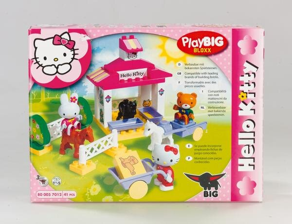 Play Big Bloxx Hello Kitty Ponyhof Art.-Nr. 800057012 Hauptbild