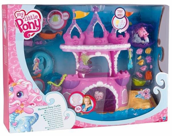 My little Pony Meerjungfrauenschloss Hauptbild
