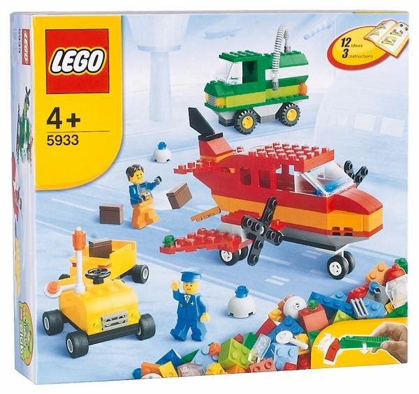 Lego Bausteine Flughafen Hauptbild