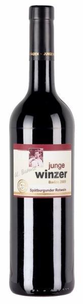 Lidl/Junge Winzer Baden Spätburgunder Rotwein trocken Hauptbild