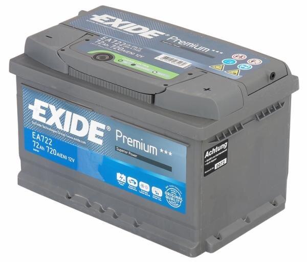 Exide Premium EA722 Hauptbild
