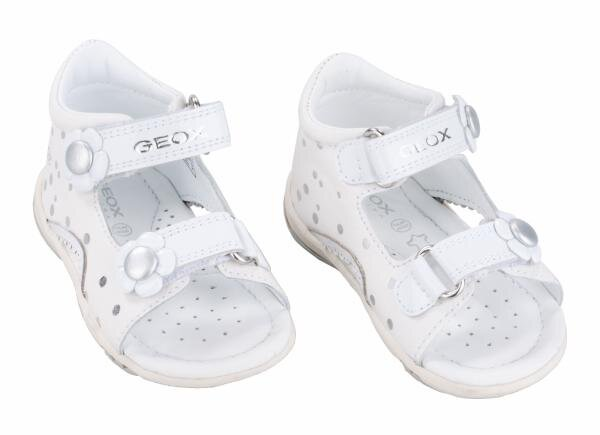 Geox Sandalen (Mädchen) weiß/silber Art.-Nr. B32B6F 00047 C0007 Hauptbild