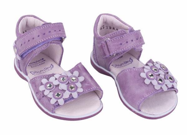 Däumling Erstlings-Sandale (Mädchen) violett Art.-Nr. 0215-119 Hauptbild