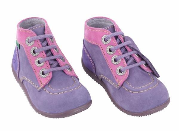 Kickers Kinderboots Bonbon violett Art.-Nr. 285-10-142 Hauptbild