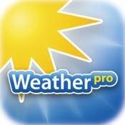 WeatherPro iOS Hauptbild