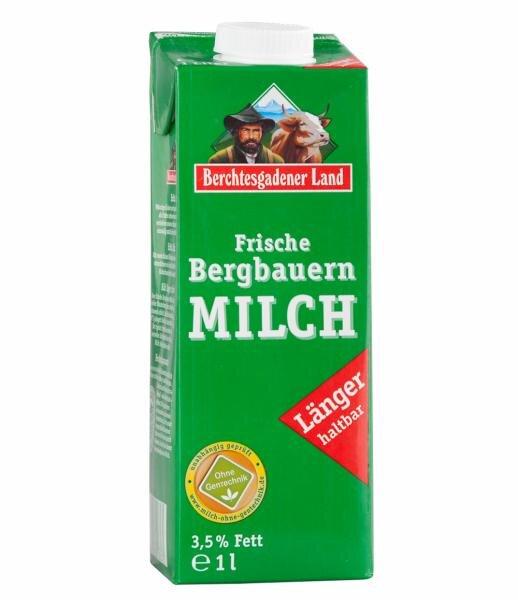 Berchtesgadener Land Frische Bergbauern Milch Hauptbild