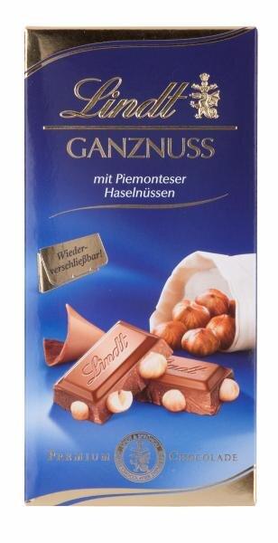 Lindt Ganznuss mit Piemonteser Haselnüssen Hauptbild