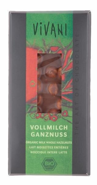 Vivani Vollmilch Ganznuss, Bio Hauptbild