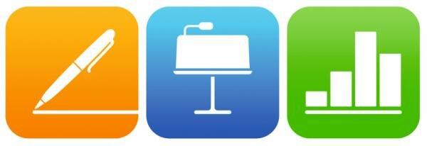 Apple Pages, Numbers, Keynote (Version: 2.1) Hauptbild