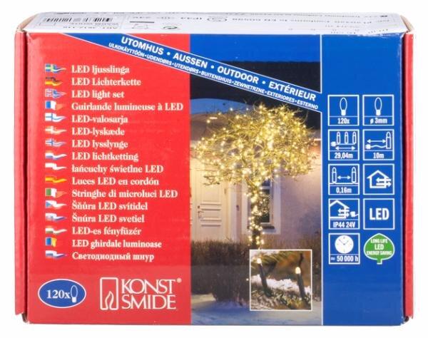 Test Led Weihnachtsbeleuchtung.Lichterketten Besinnlich Mit Led Weihnachtsbeleuchtung Im Test
