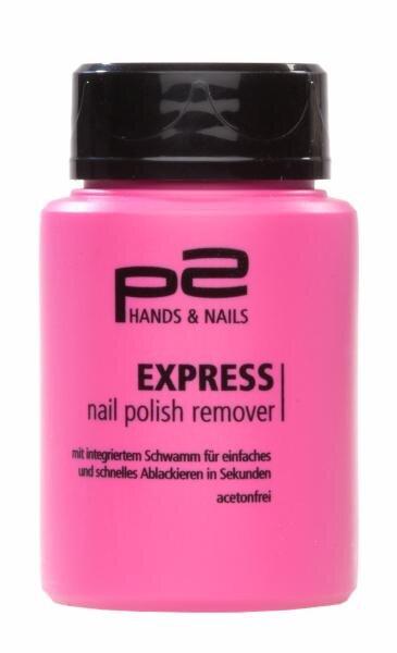 dm / P2 Hands & Nails Express nail polish remover acetonfrei Hauptbild