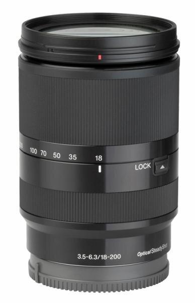 Sony E 18-200 mm 1:3.5-6.3 OSS LE Hauptbild