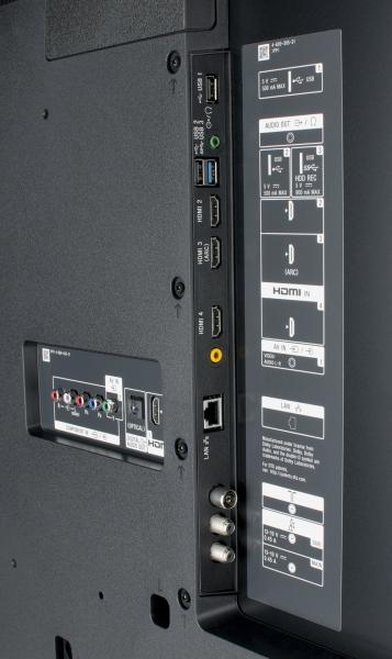Sony KD-55XE9005 Anschlüsse