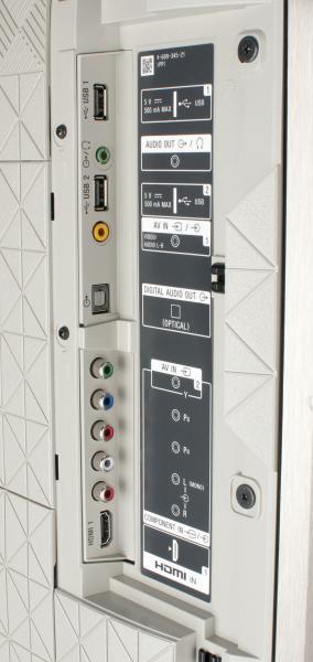 Sony KD-55XE9305 Anschlüsse