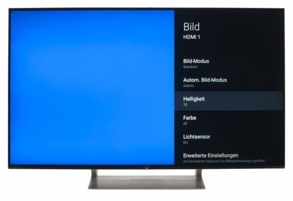 Sony KD-55XE9305 Bildschirmmenü