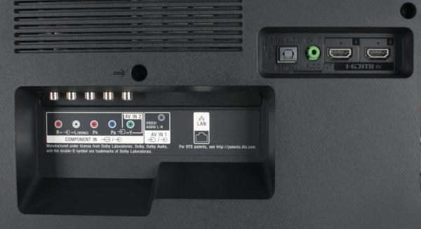 Sony KD-43XE8005 weitere Anschlüsse