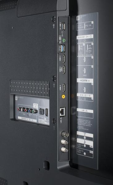 Sony KD-49XE9005 Anschlüsse