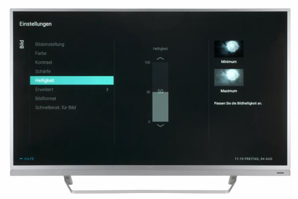 Philips 55PUS6482 Bildschirmmenü