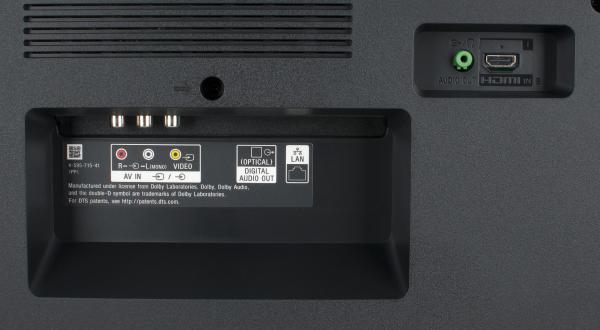 Sony KD-55XE7005 weitere Anschlüsse