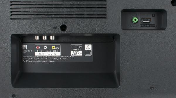 Sony KD-43XE7005 weitere Anschlüsse