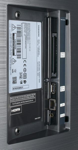 Samsung UE49MU8009 Anschlüsse