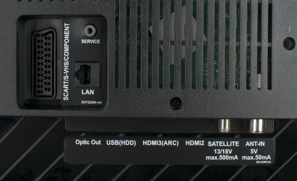 Grundig 40 GFS 6728 weitere Anschlüsse