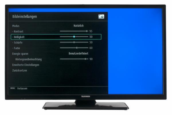Telefunken B32F545A Bildschirmmenü