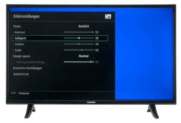 Telefunken XF40D101 Bildschirmmenü