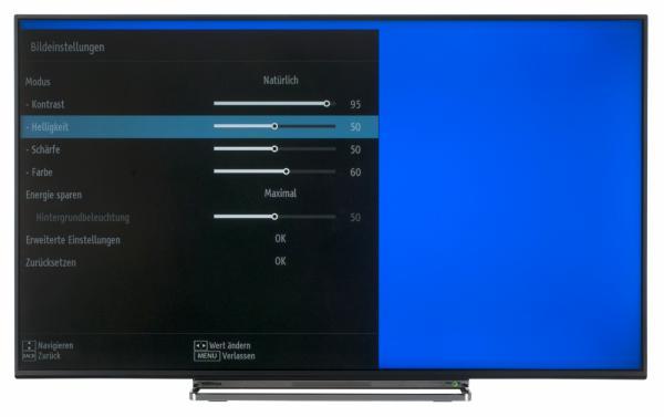 Toshiba 49U5766DA Bildschirmmenü