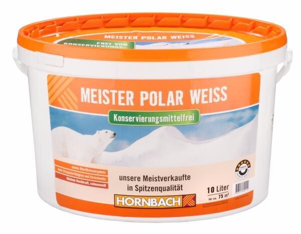 Hornbach Meister Polar Weiss konservierungsmittelfrei Hauptbild