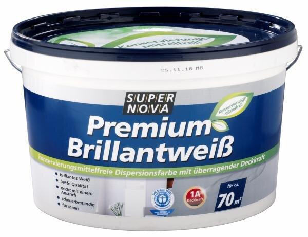 Super Nova Premium Brilliantweiß konservierungsmittelfrei Hauptbild