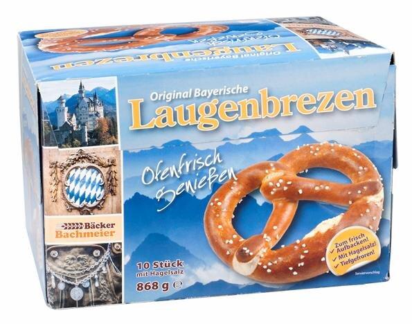 Bäcker Bachmeier Original Bayerische Laugenbrezen Hauptbild