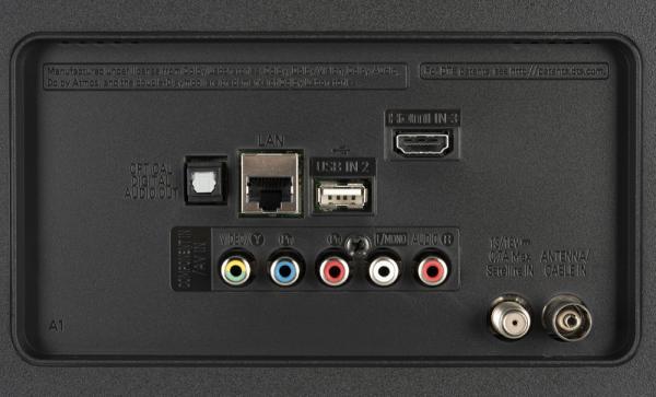 LG 50UK6300 weitere Anschlüsse