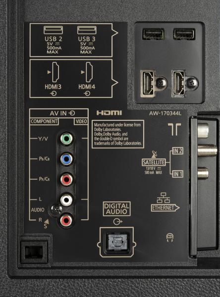 Panasonic TX-55FZW954 weitere Anschlüsse