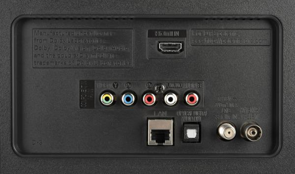 LG 43LK5900 weitere Anschlüsse